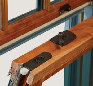Window latches for opening and closing