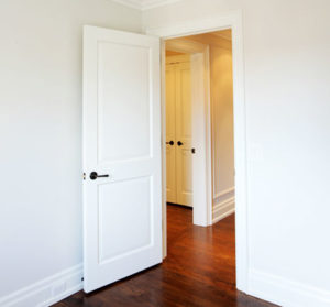 White house interior door