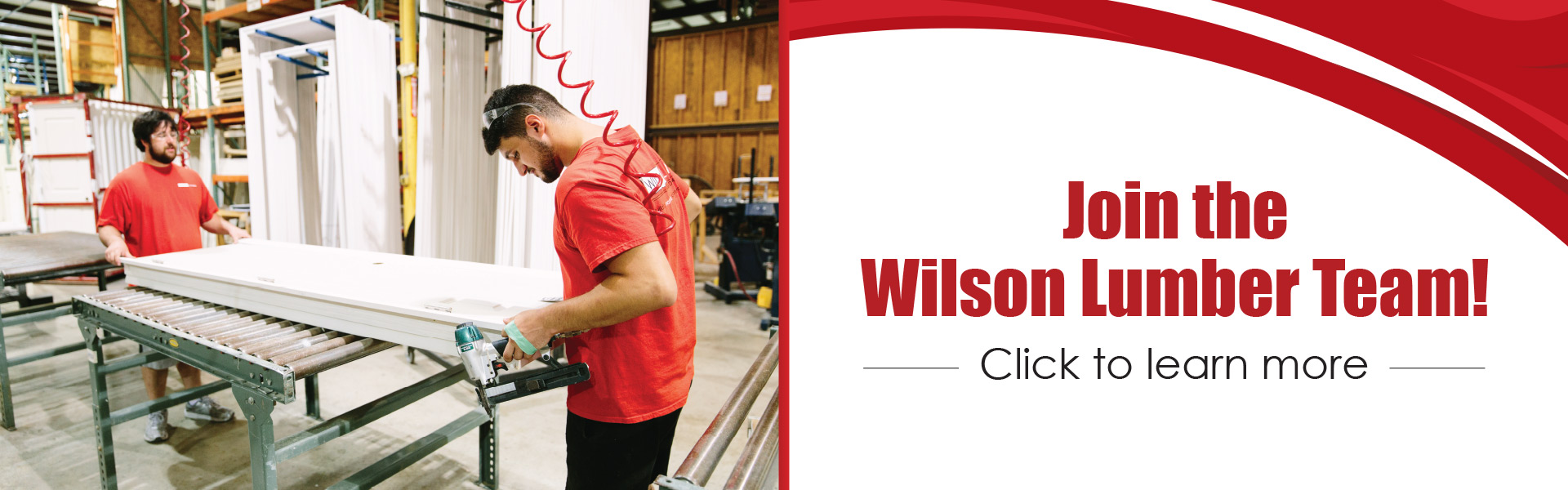 Join the Wilson Lumber Team!
