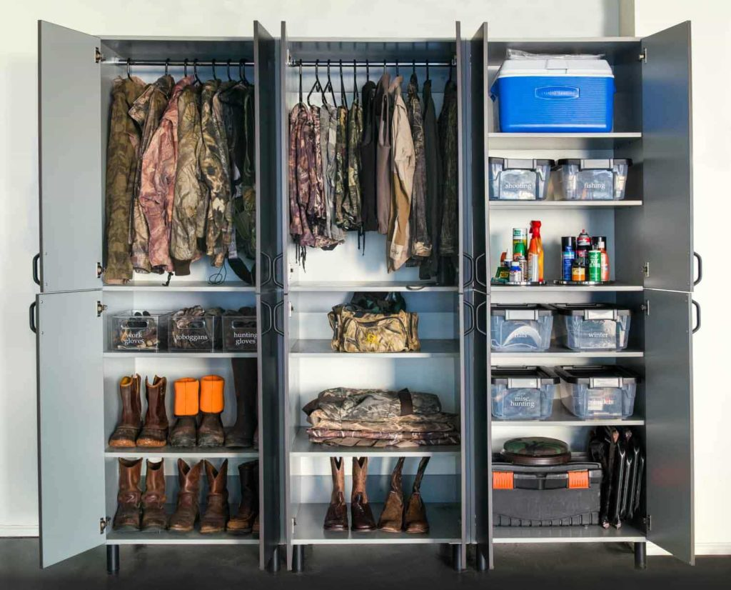 Garage Shelving System by Organized Living and Wilson Lumber