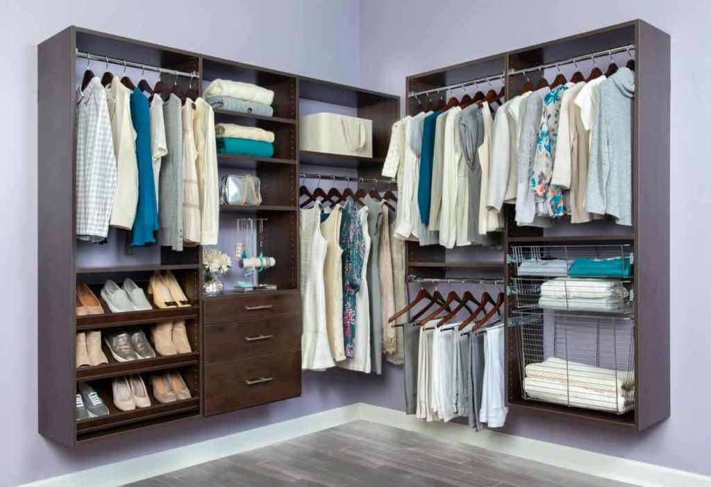 Organized Closet System by Organized Living and Wilson Lumber
