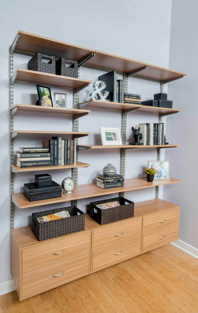 Organized Office by Organized Living and Wilson Lumber