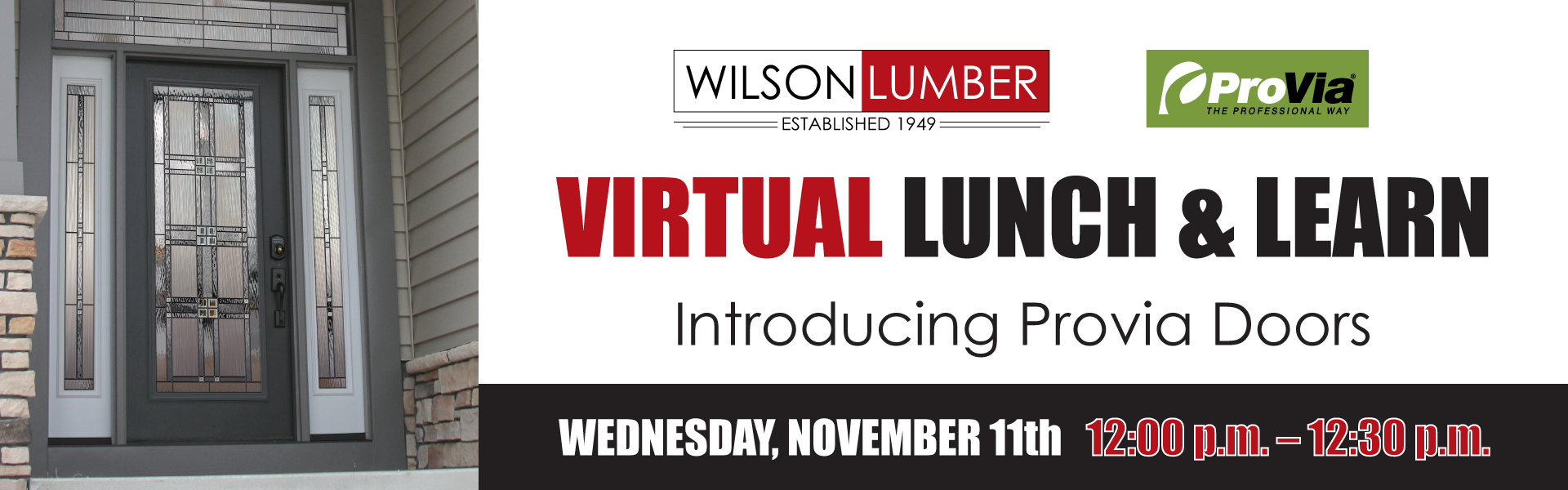 Virtual Lunch Wilson Lumber