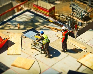 Framers on Construction Site